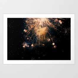 New Year's Eve Art Print