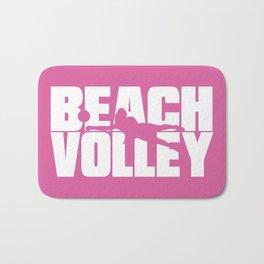 Beach volley Bath Mat
