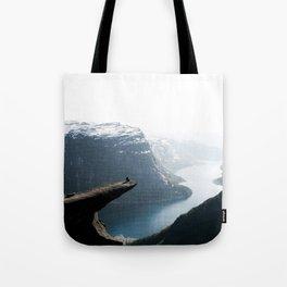 Trolltunga Tote Bag
