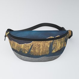 Midnight Desert Moon Fanny Pack
