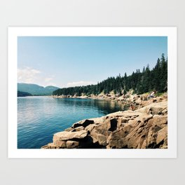 Otter Point - Acadia National Park, Maine Art Print