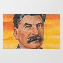 Joseph Stalin Vintage Portrait Rug
