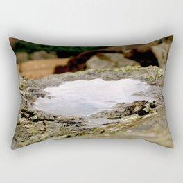 Mountain Pool Rectangular Pillow