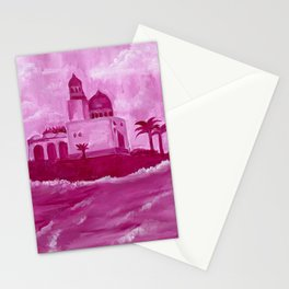 Pink Oceanside Masjid Stationery Cards