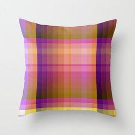 Complimentary Color harmony yellow/purple 2 Throw Pillow