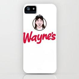 Wayne's Single #1 iPhone Case