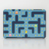 pacman iPad Cases featuring RETRO GAME by Vickn