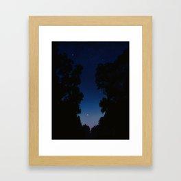 The Long Twilight Of Midsummer Nights Framed Art Print