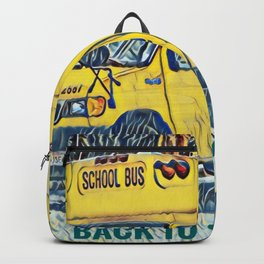 Back to School - The Yellow School Bus Backpack