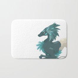 dragon de cire Bath Mat