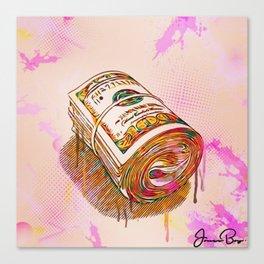 bankroll Canvas Print