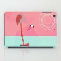 flamingo iPad Cases featuring flamingo  by mark ashkenazi