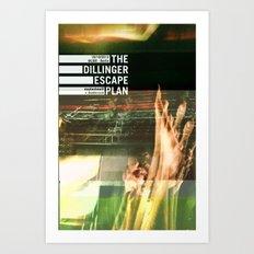 The Dillinger Escape Plan live in Berlin Art Print