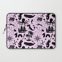 High Seas Adventure // Pink Laptop Sleeve