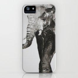 Marching Elephant iPhone Case