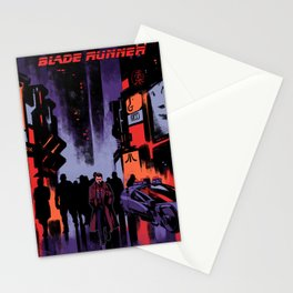 Blade Runner Los Angeles Stationery Cards