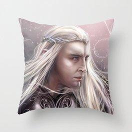 Thranduil Throw Pillow