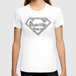 Super Symbol Doodle T-shirt