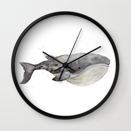 Whale 1 Wall Clock