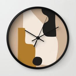 abstract minimal 16 Wall Clock