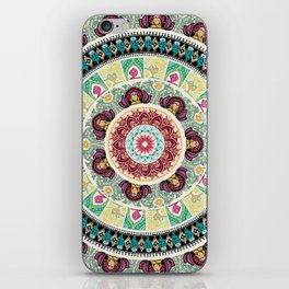 Sloth Yoga Medallion iPhone Skin