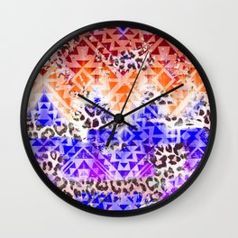 NAVAJO SUNSET Wall Clock