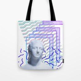 Vaporwave Greek Tote Bag