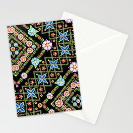 Millefiori Floral Lattice Stationery Cards