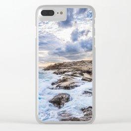 Crashing Waves At Prospect, Nova Scotia #3 Clear iPhone Case
