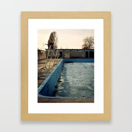 Piscine Jarry Framed Art Print