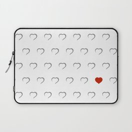 Hearts - Classic Red Laptop Sleeve