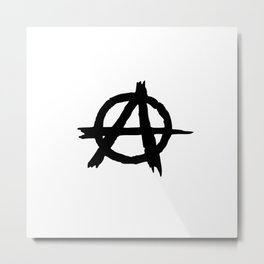 Anarchy Metal Print