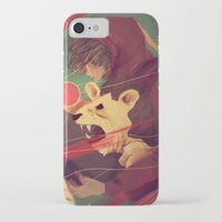 courage iPhone & iPod Cases featuring Courage by James M. Fenner