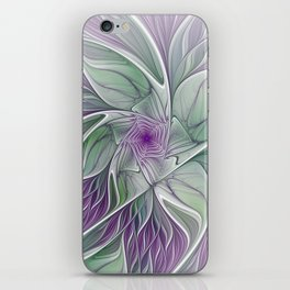 Flower Dream, Abstract Fractal Art iPhone Skin