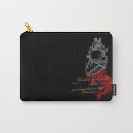 With all your heart Carry-All Pouch