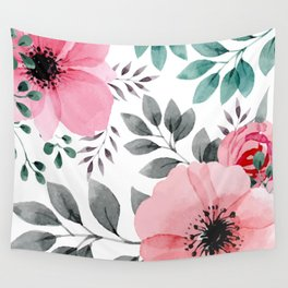 FLOWERS WATERCOLOR 14 Wall Tapestry