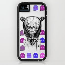 skeleton child iPhone Case