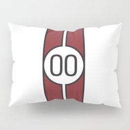 racing stripe .. #00 Pillow Sham