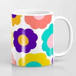 Flowers Pop Coffee Mug