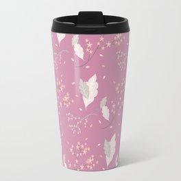 Spring Floral Pattern X Travel Mug