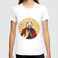 lama T-shirts featuring Dalai Lama by ArDem