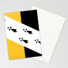norfolk county flag Stationery Cards
