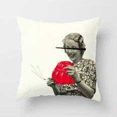 Jelly Addict Throw Pillow