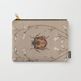 The Ladybug and Sweet Pea Carry-All Pouch