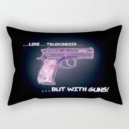 Spitfire's telekinetic gun! Rectangular Pillow