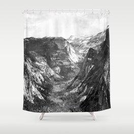 Tenaya Canyon Shower Curtain