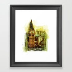 London - Big Ben Framed Art Print