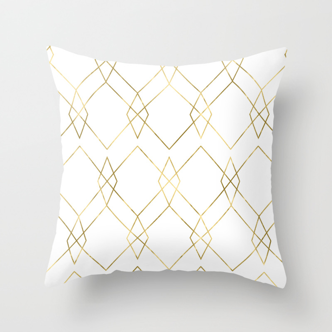 Graphic-design and Vector Throw Pillows Society6