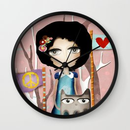 In the name of Love Wall Clock