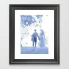 When You fall in Love Framed Art Print